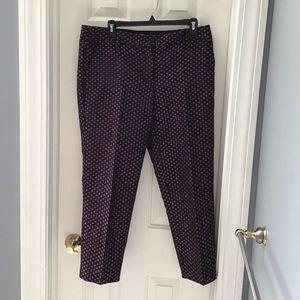 J.Crew Cropped Dress Pants - sharp!